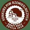 O Nas Medal KPR2018 Braz POLSJKIE ALE Pale Ale