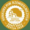 O Nas Medal KPR2018 Zloto NIEMIECKI JASNY LAGER Janusz Moczywas