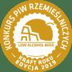 O Nas Medal KPR2019 Gold Low Alko Beer Bezlitosna Sosna